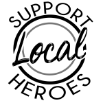 support your local hero!